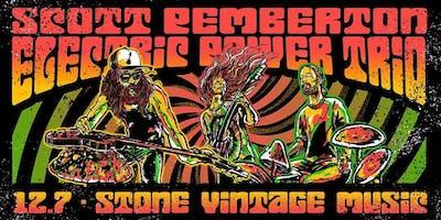 Scott Pemberton: Electric Power Trip at Stone Vintage Music