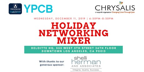 YPCB/Kaleidoscope Holiday Networking Mixer tickets