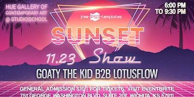 Sunset Show - Goaty the Kid b2b LotusFlow