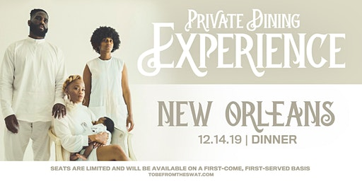 THE IVORY TOUR [NEW ORLEANS] DINNER EXPERIENCE