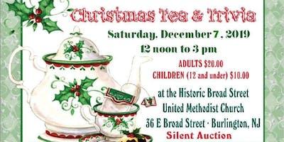 Annual Christmas Tea, Trivia and Silent Auction