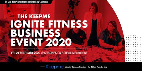 Ignite Fitness Business Event Melbourne 2020 tickets