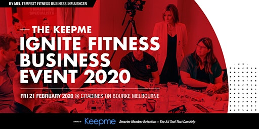 Ignite Fitness Gym Owners Business Event Melbourne 2020