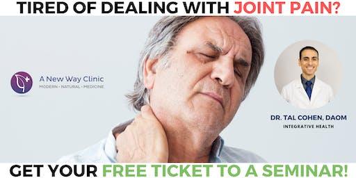 Arthritis Pain Seminar w/ Dr. Cohen, DAOM -  Corvallis OR