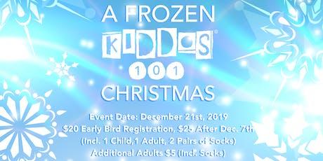 A Frozen Kiddos 101 Christmas tickets