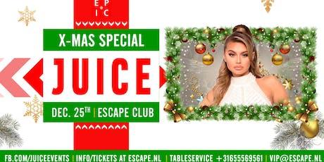 Juice X-Mas Special tickets