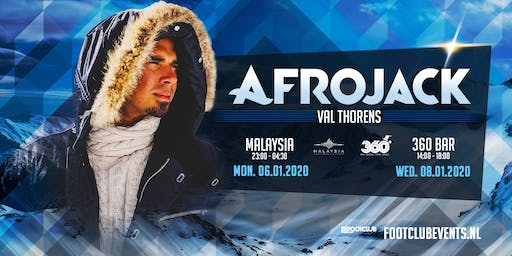 Afrojack at 360 Bar, Val Thorens [FR]