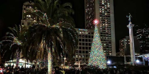 MACY'S PRESENTS THE 30th ANNUAL  GREAT TREE LIGHTING CEREMONY IN SAN FRANCISCO