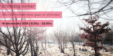 Stiltedag winter - Afscheid nemen, mee-gaan en afronden tickets