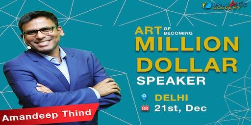 Art Of Becoming Million Dollar Speaker