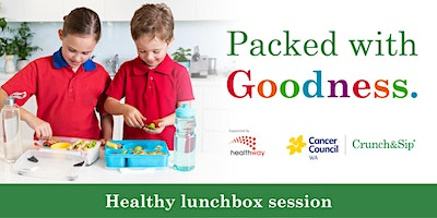 Packed with Goodness lunchbox workshop – Adult Event