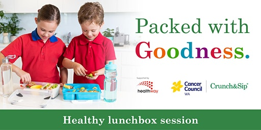 Packed with Goodness lunchbox workshop - Adult Event