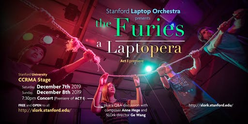 The Furies: A Laptopera, Act I