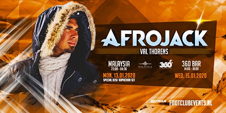 Afrojack at 360 Bar, Val Thorens [FR] biglietti