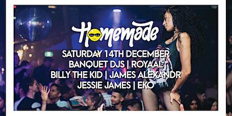Homemade Saturdays - 14th December 2019 tickets