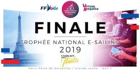 Finale du Trophée National E-sailing tickets