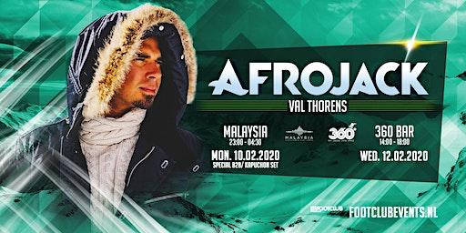 Afrojack at Malaysia, Val Thorens [FR]