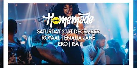 Homemade Saturdays - 21st December 2019 tickets