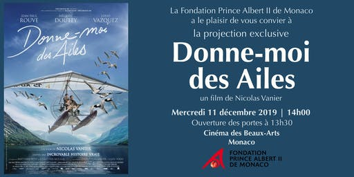 "Projection Exclusive ""Donne-moi des Ailes"""