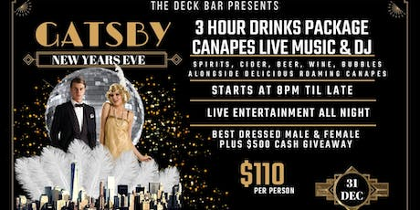 GATSBY NEW YEARS EVE tickets