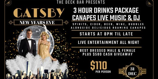 GATSBY NEW YEARS EVE