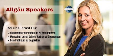 Allgäu Speakers - Club-Meeting Tickets