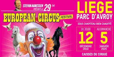 Invitation European Circus - Clients la Meuse