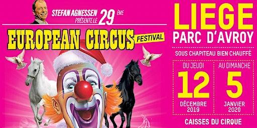 Invitation European Circus - Clients la Meuse
