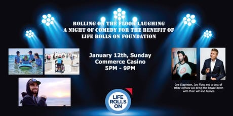 Rolling on the Floor Laughing - A Night of Comedy for Life Rolls On tickets