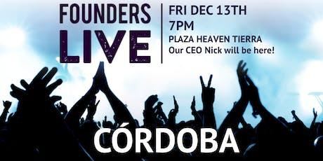 Founders Live Córdoba entradas