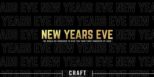 New Year's Eve at CRAFT Beer Market - Edmonton