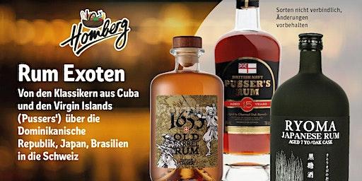 Rum Exoten bei REWE Homberg