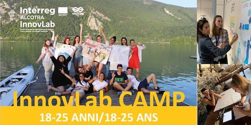 INNOVLAB CAMP 18-25 ANNI / 9-13 DICEMBRE