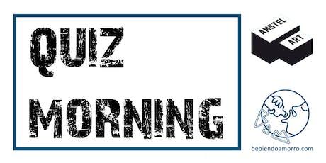 ALMUERZOS CULTURALES DE AMSTEL ART + QUIZ MORNING (ENTRADA LIBRE) entradas