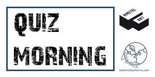 ALMUERZOS CULTURALES DE AMSTEL ART + QUIZ MORNING (ENTRADA LIBRE)