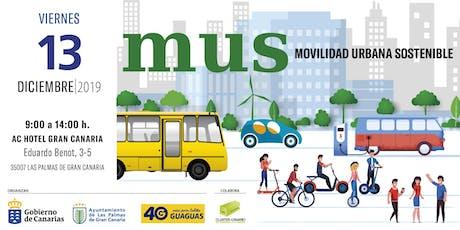 MUS. Movilidad Urbana Sostenible. entradas
