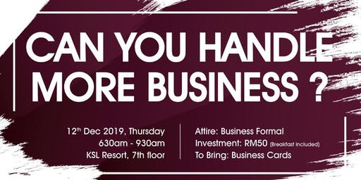 Excellent Business Open Day