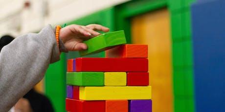 Toy design per l'apprendimento. Come insegno giocando biglietti
