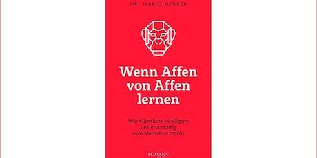 """Buchpräsentation """"Wenn Affen von Affen lernen"""" Tickets"""