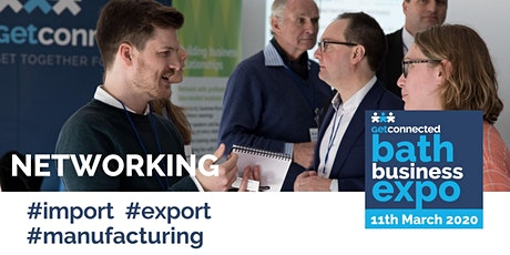 Networking for International Trade, Import, Export and Manufacturing tickets