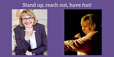 Stand up, Reach out, Have Fun - present with confidence and humour!
