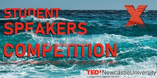 Student Speakers Competition - TEDxNewcastleUniversity