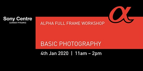 Basic Photography tickets