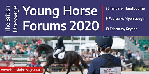 Young Horse Forum 2020 - Myerscough