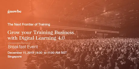 Grow your Training Business with Digital Learning 4.0 tickets