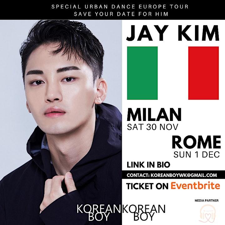 [Milan] K-POP Europe Tour with JAY KIM image