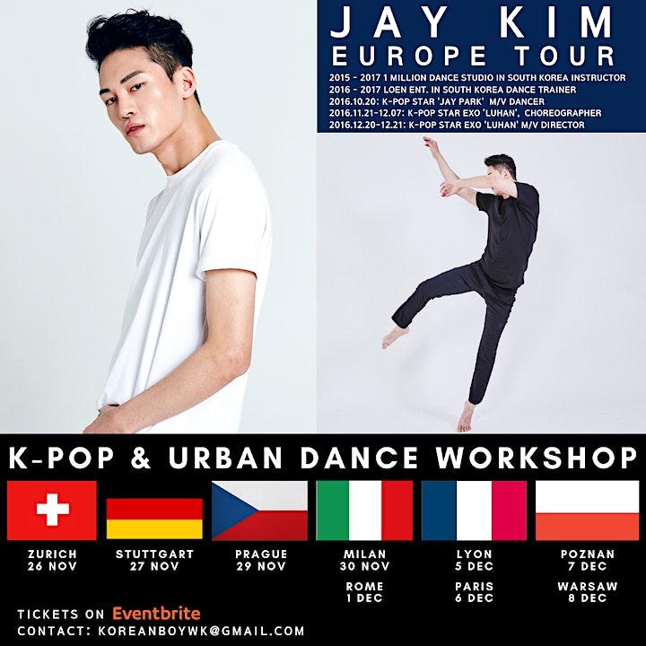 [Rome] K-POP Europe Tour with JAY KIM image