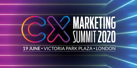 CX Marketing Summit 2020 tickets