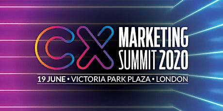 CX Marketing Summit 2020 tickets