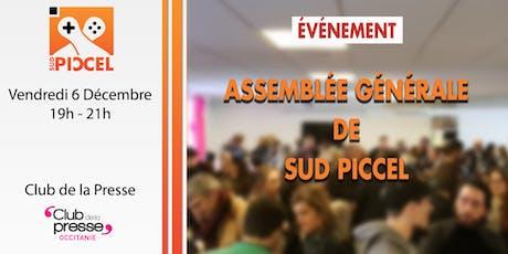 Sud PICCEL - Assemblée Générale 2019 billets